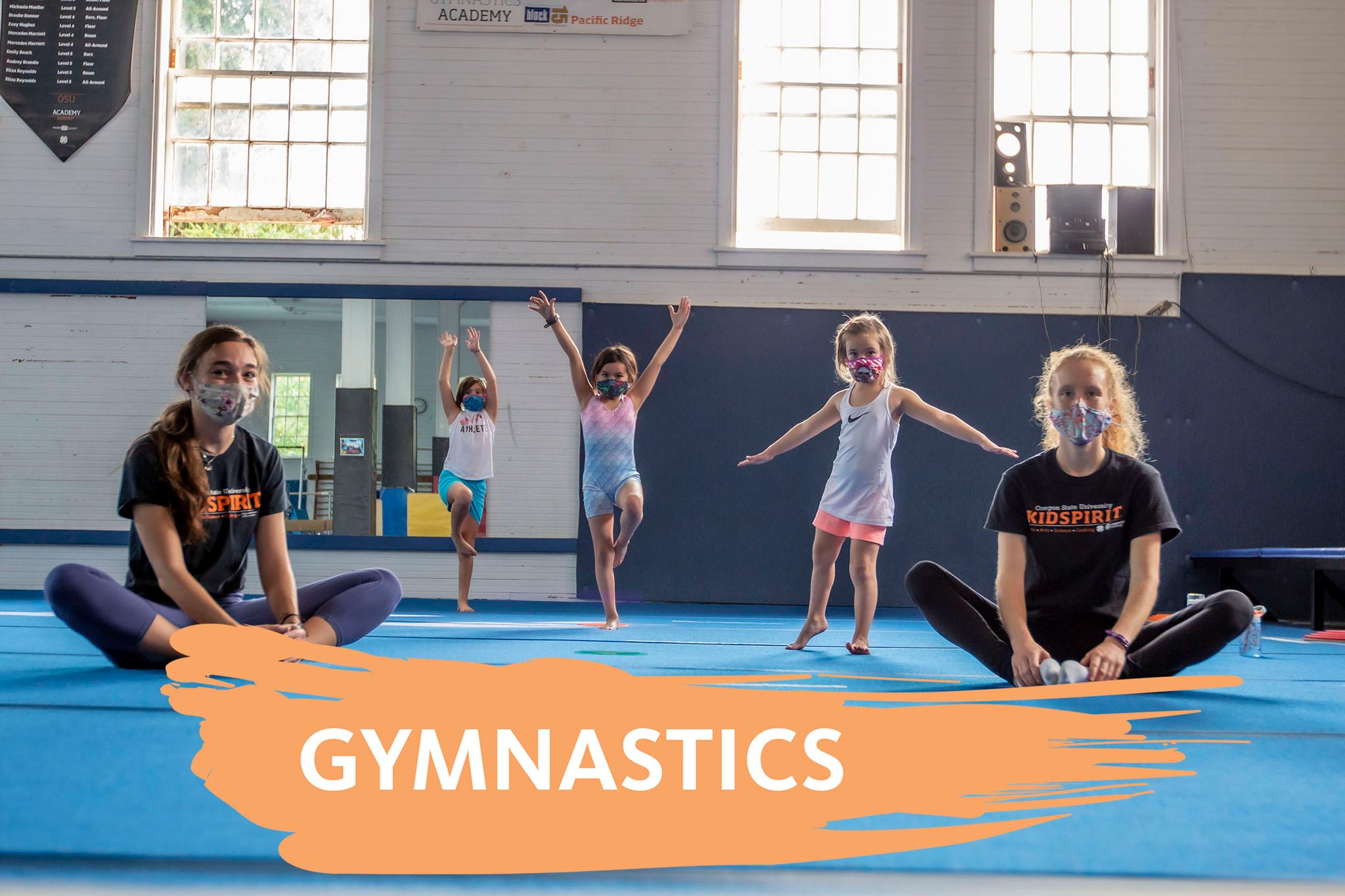 KidSpirit Recreation Gymnastics Best Program for kids Youth Gymnastics