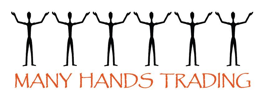 many hands trading logo